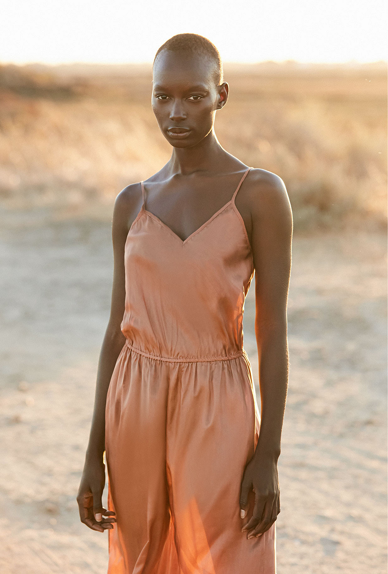 Jumpsuit Boukhara Mes Demoiselles color Nude
