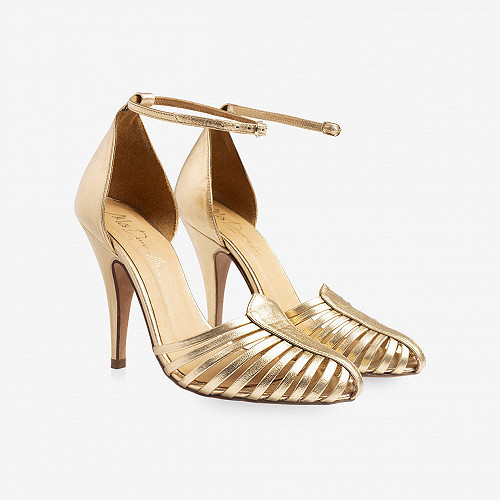 Pumps Venitiennes Mes Demoiselles color Gold