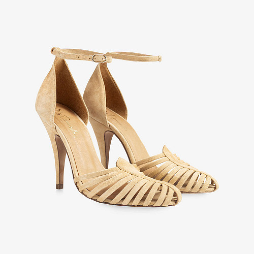 Pumps Venitiennes Mes Demoiselles color Suede