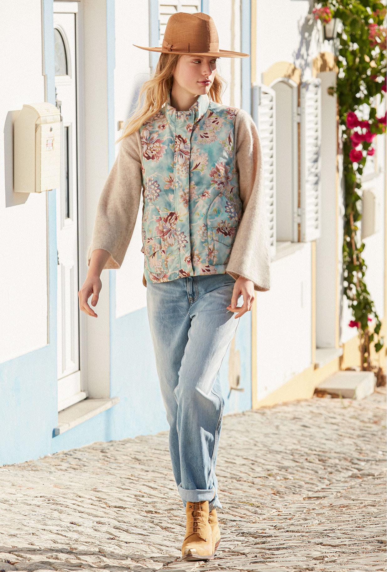 Jacket Kapalua Mes Demoiselles color Print Aqua