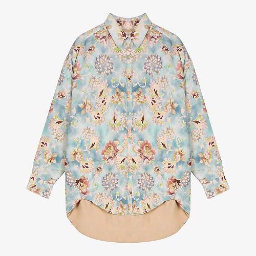 Jacket Kapolei Mes Demoiselles color Print Aqua