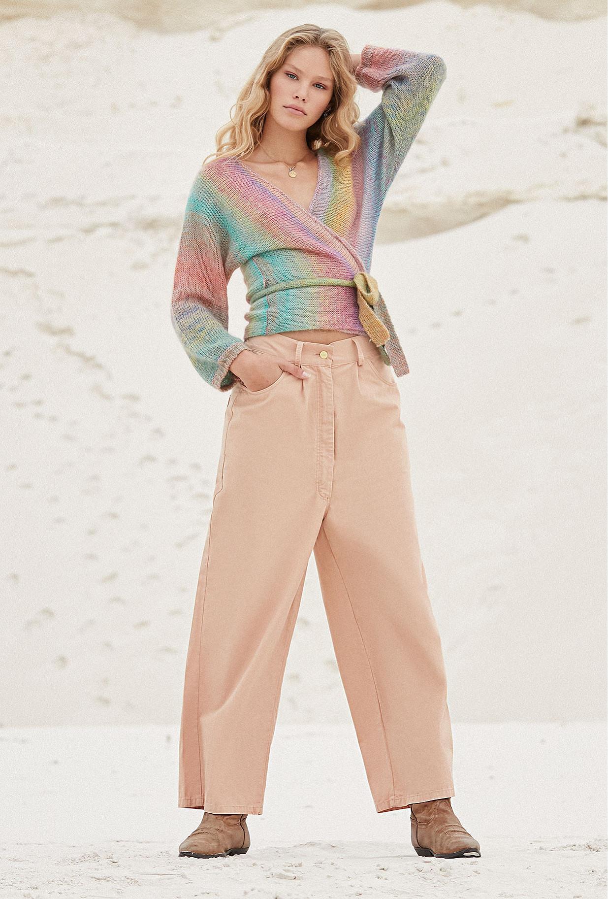 Pants Matthew Mes Demoiselles color Pink