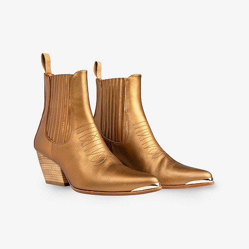 Boots Les Calamitys Mes Demoiselles color Bronze