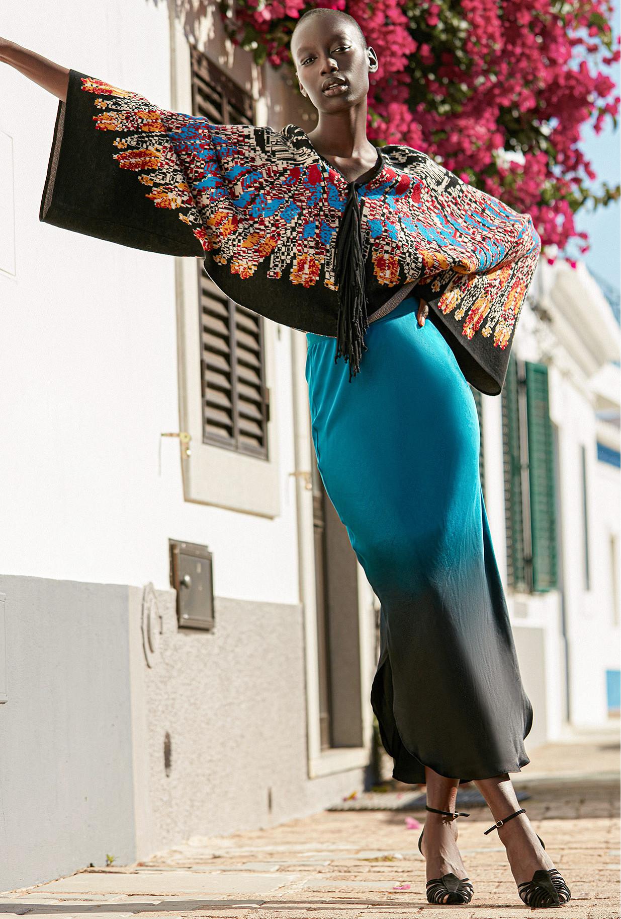 Skirt Simone Mes Demoiselles color Blue