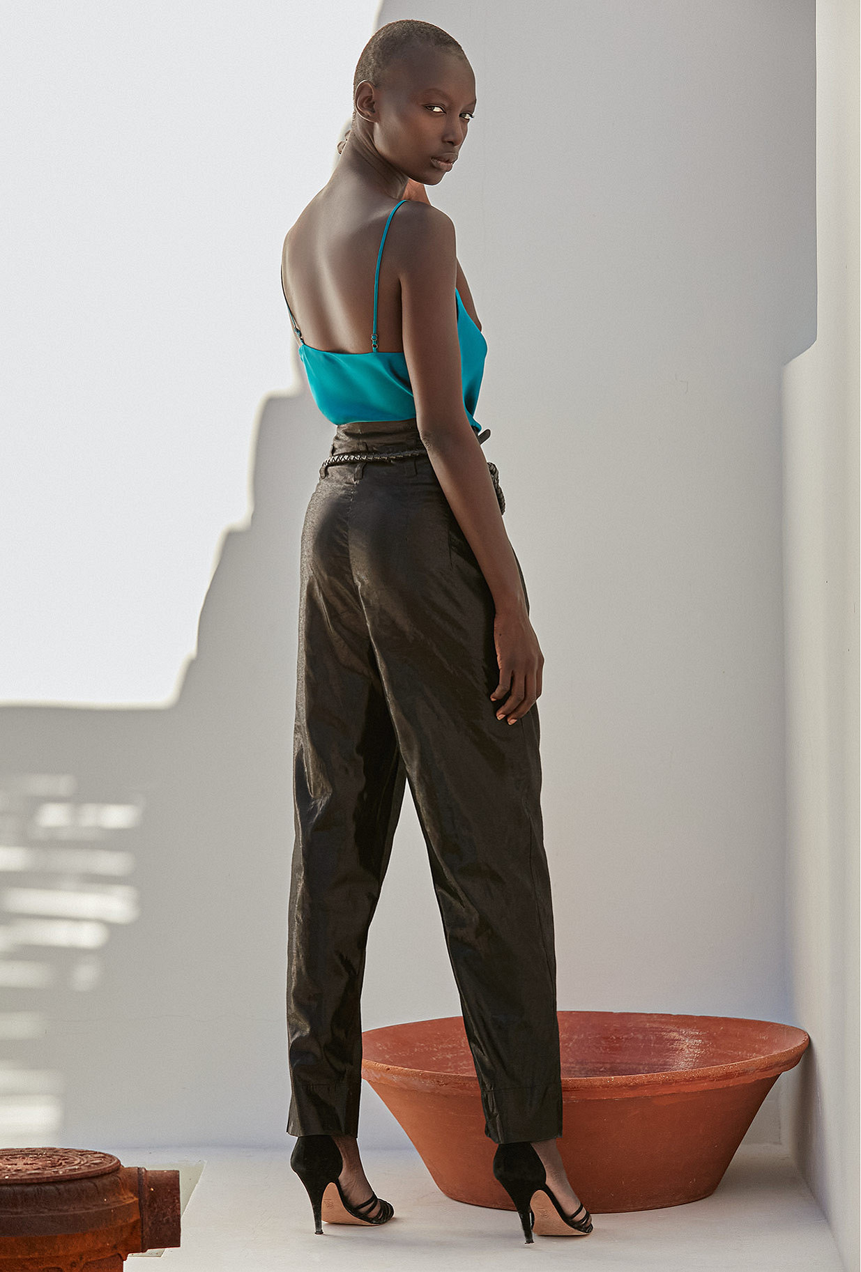 Pants Viverno Mes Demoiselles color Black