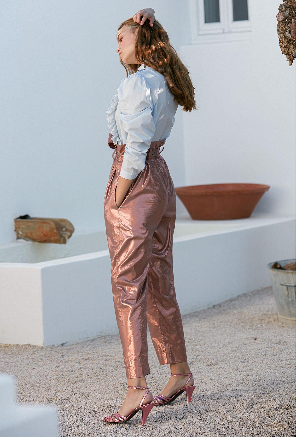 Pants Viverno Mes Demoiselles color Pink