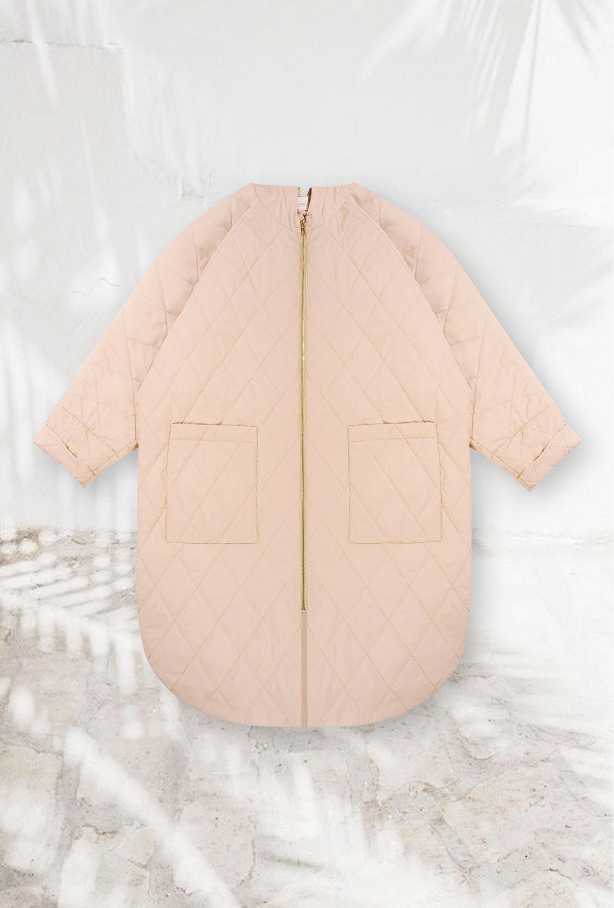 Coat Quantico Mes Demoiselles color Pink