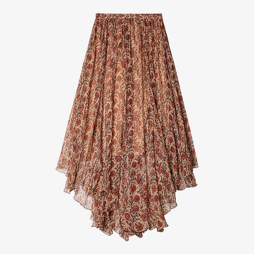 Skirt Guimauve Mes Demoiselles color Red print