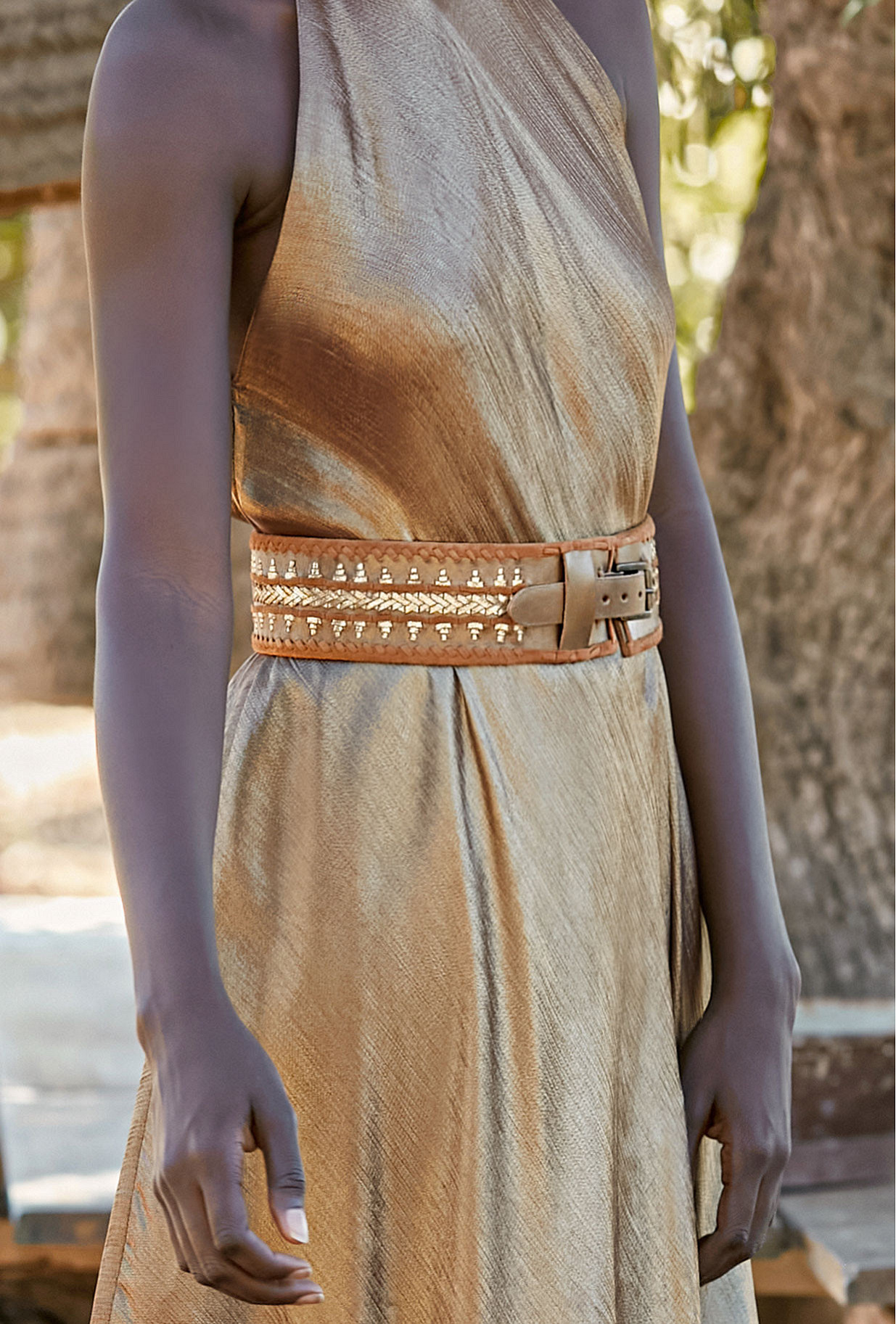 Belt Coaxial Mes Demoiselles color Bronze