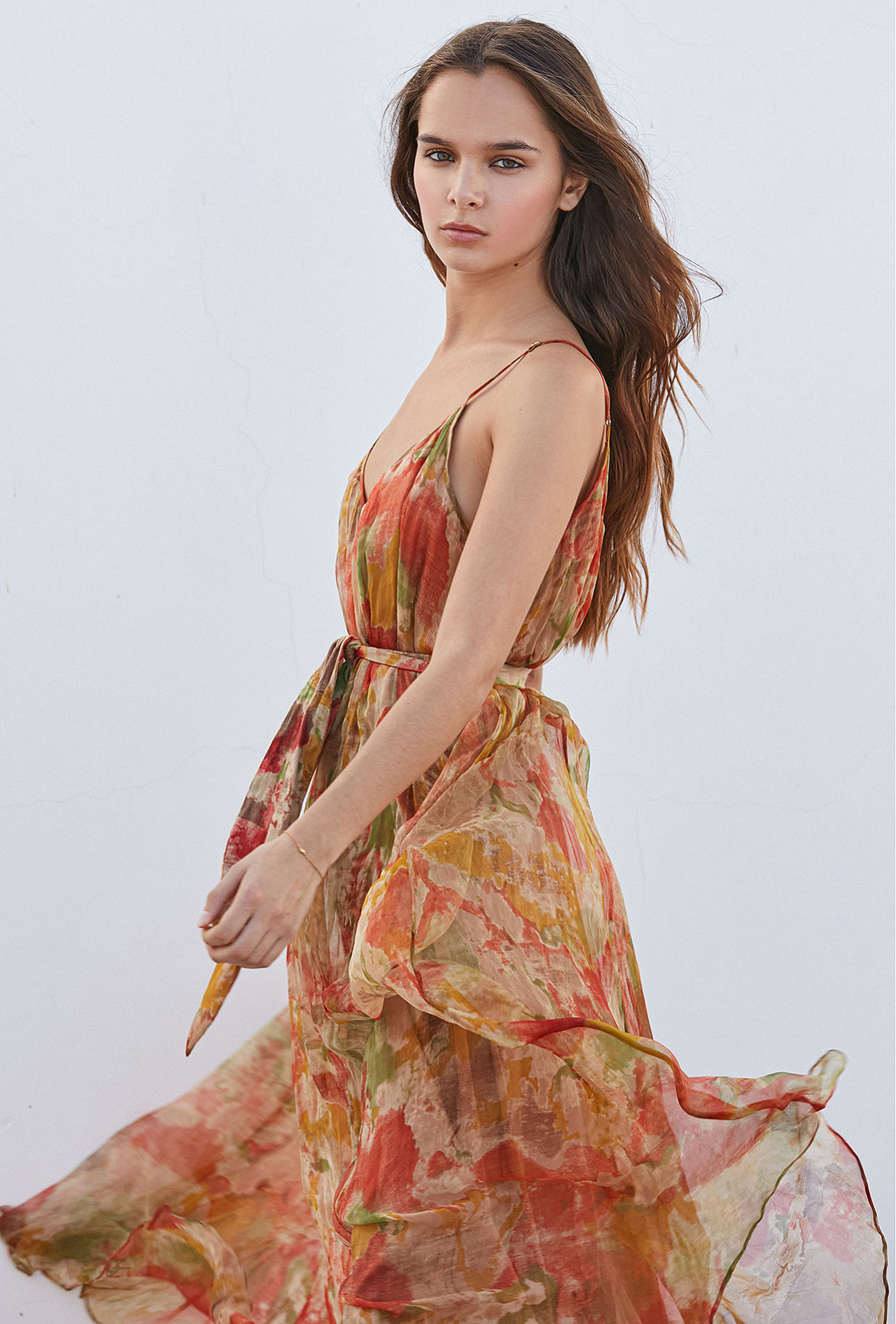 Dress Aubade Mes Demoiselles color Multico print