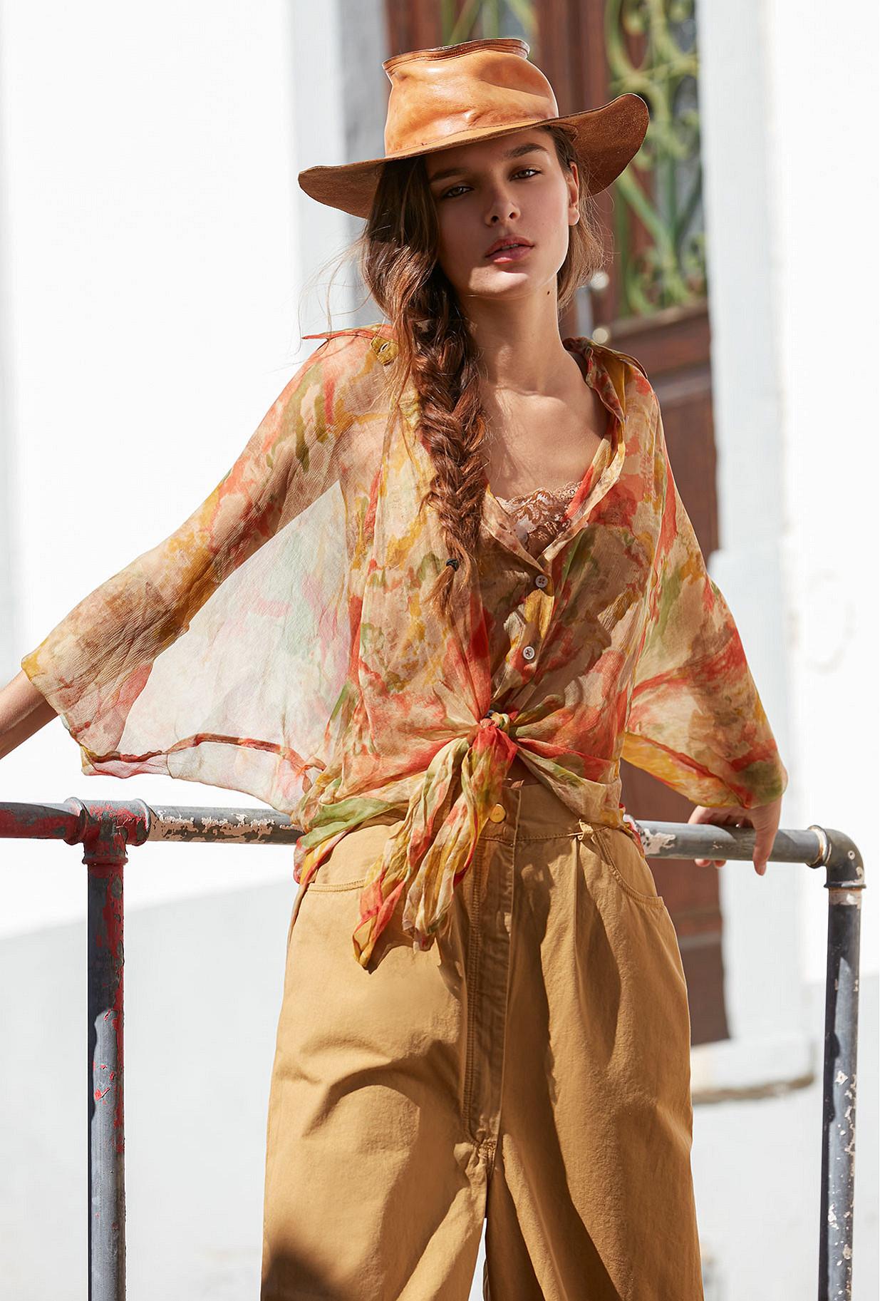 Shirt Aubepine Mes Demoiselles color Multico print