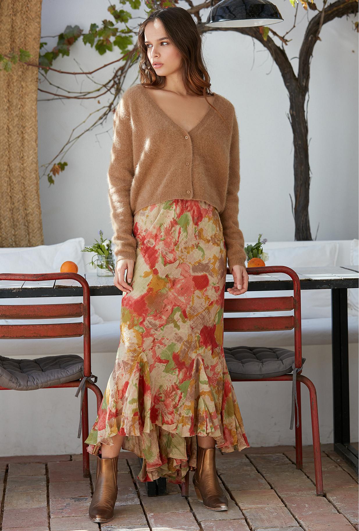 Skirt Aurore Mes Demoiselles color Multico print