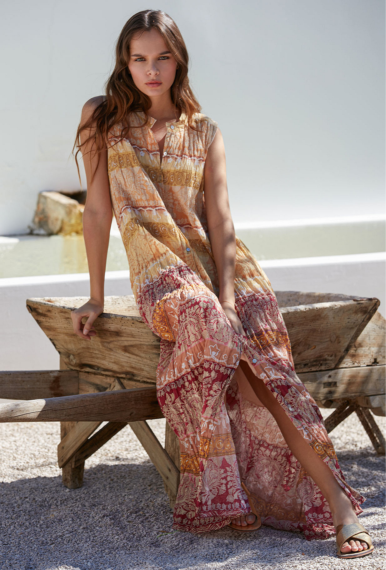 Dress Banjara Mes Demoiselles color Multico print