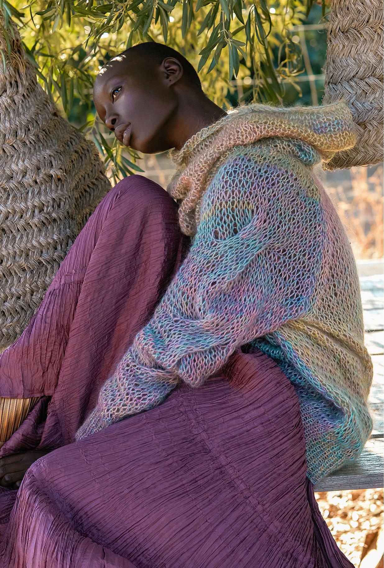 Sweater Rainbow Mes Demoiselles color Multico
