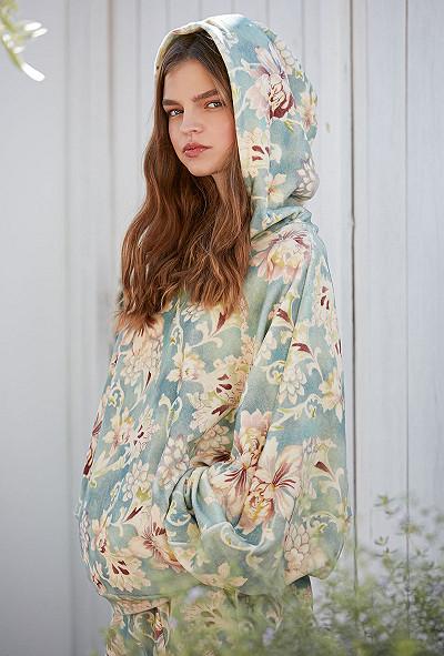 Sweater Kona Mes Demoiselles color Print Aqua