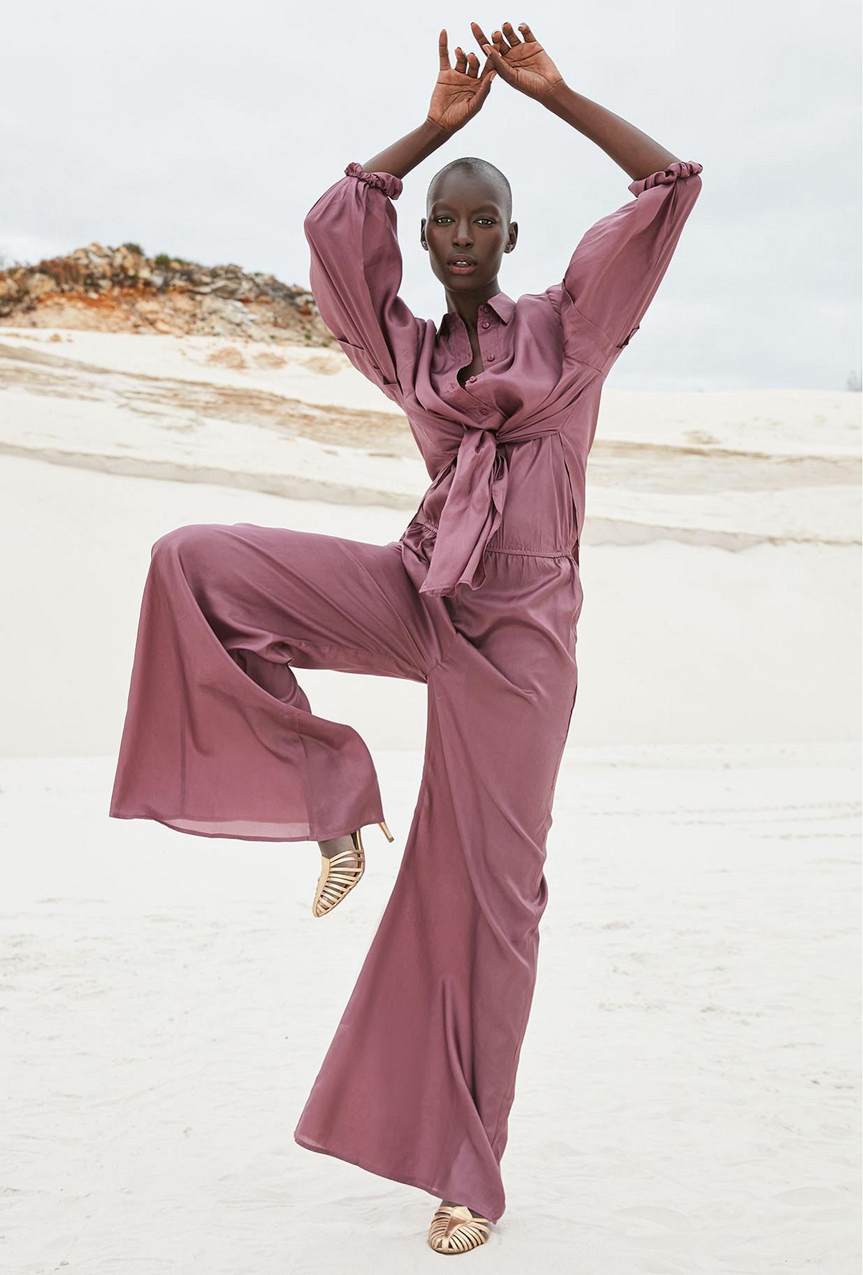 Jumpsuit Boukhara Mes Demoiselles color Purple