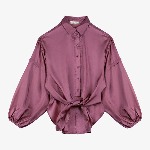 Shirt Balhk Mes Demoiselles color Purple
