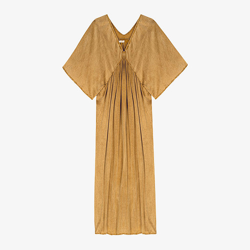 Dress Smooth Mes Demoiselles color Gold