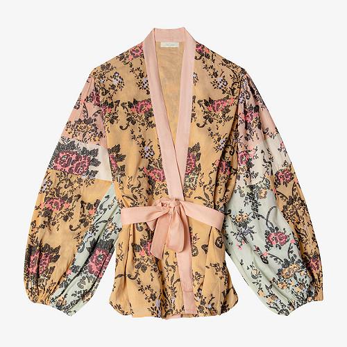 Kimono Iris Mes Demoiselles color Multico