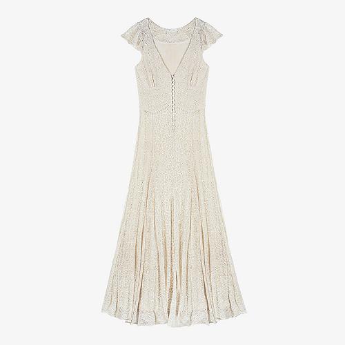 Dress Joanna Mes Demoiselles color Ivory