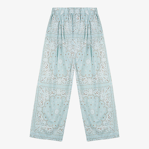 Pants Sandoval Mes Demoiselles color Aqua print
