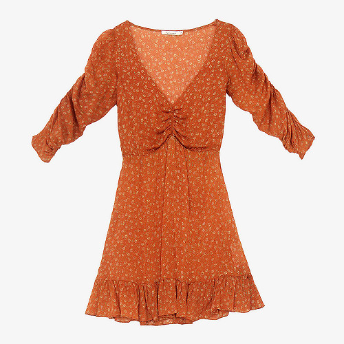 Dress Francesca Mes Demoiselles color Orange