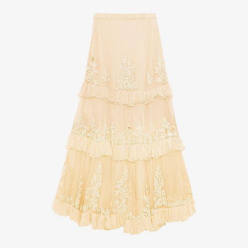 Skirt Beyonce Mes Demoiselles color Ecru