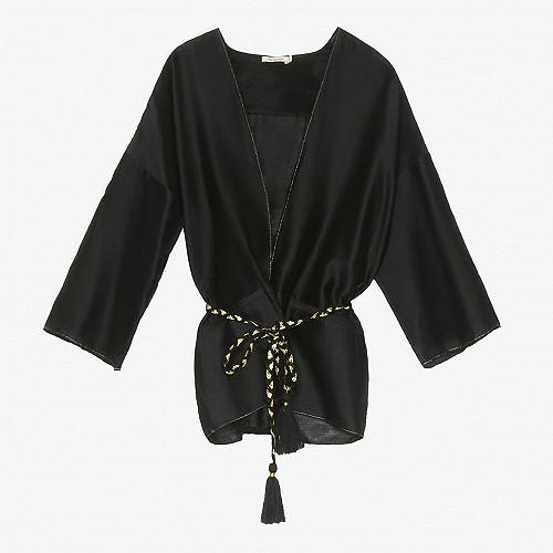 Kimono Opium Mes Demoiselles coloris Noir