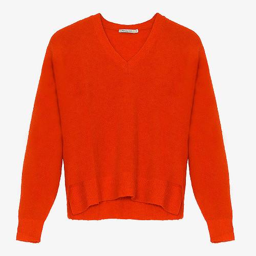 Sweater Palenque Mes Demoiselles color Coral