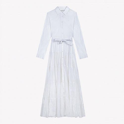 Dress Calam Mes Demoiselles color White
