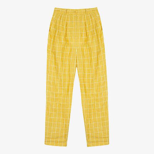 Pant Calypso Mes Demoiselles color Yellow