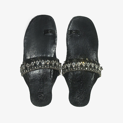 Sandals Agar Mes Demoiselles color Black
