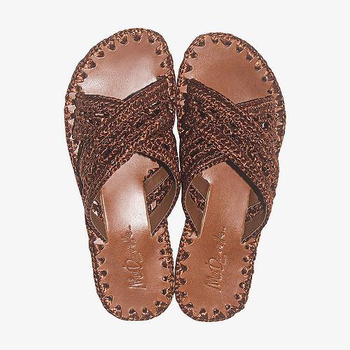 Sandals Raffi Mes Demoiselles color Terracotta