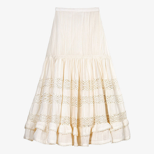 Skirt Gretchen Mes Demoiselles color White