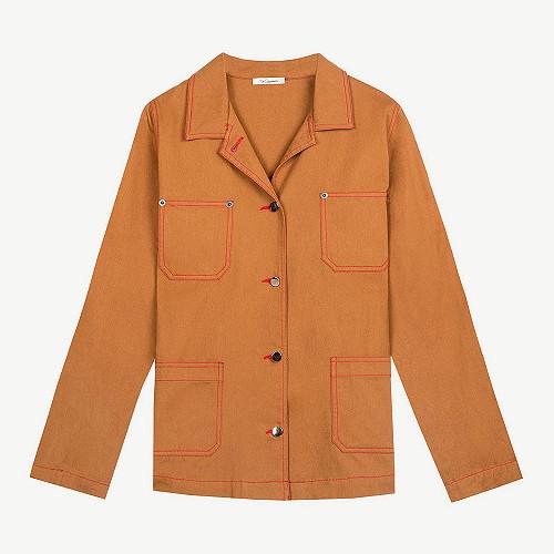 Jacket Levis Mes Demoiselles color Khaki
