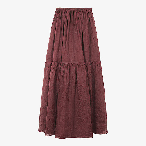 SKIRT Andromaque Mes Demoiselles color Berry