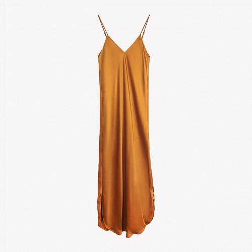 Dress Tess Mes Demoiselles color Ocre