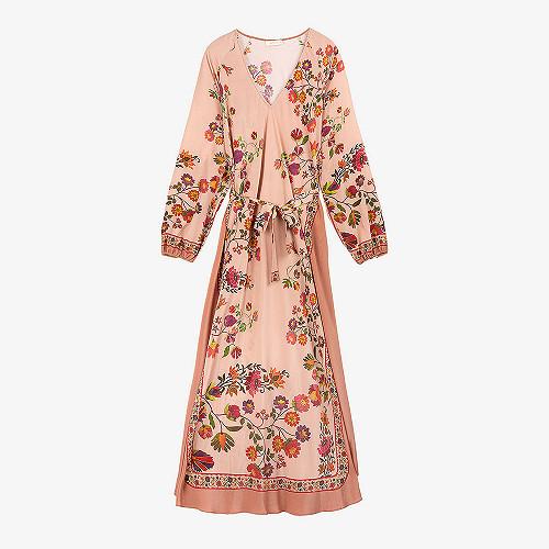 Dress Digitale Mes Demoiselles color Pink print