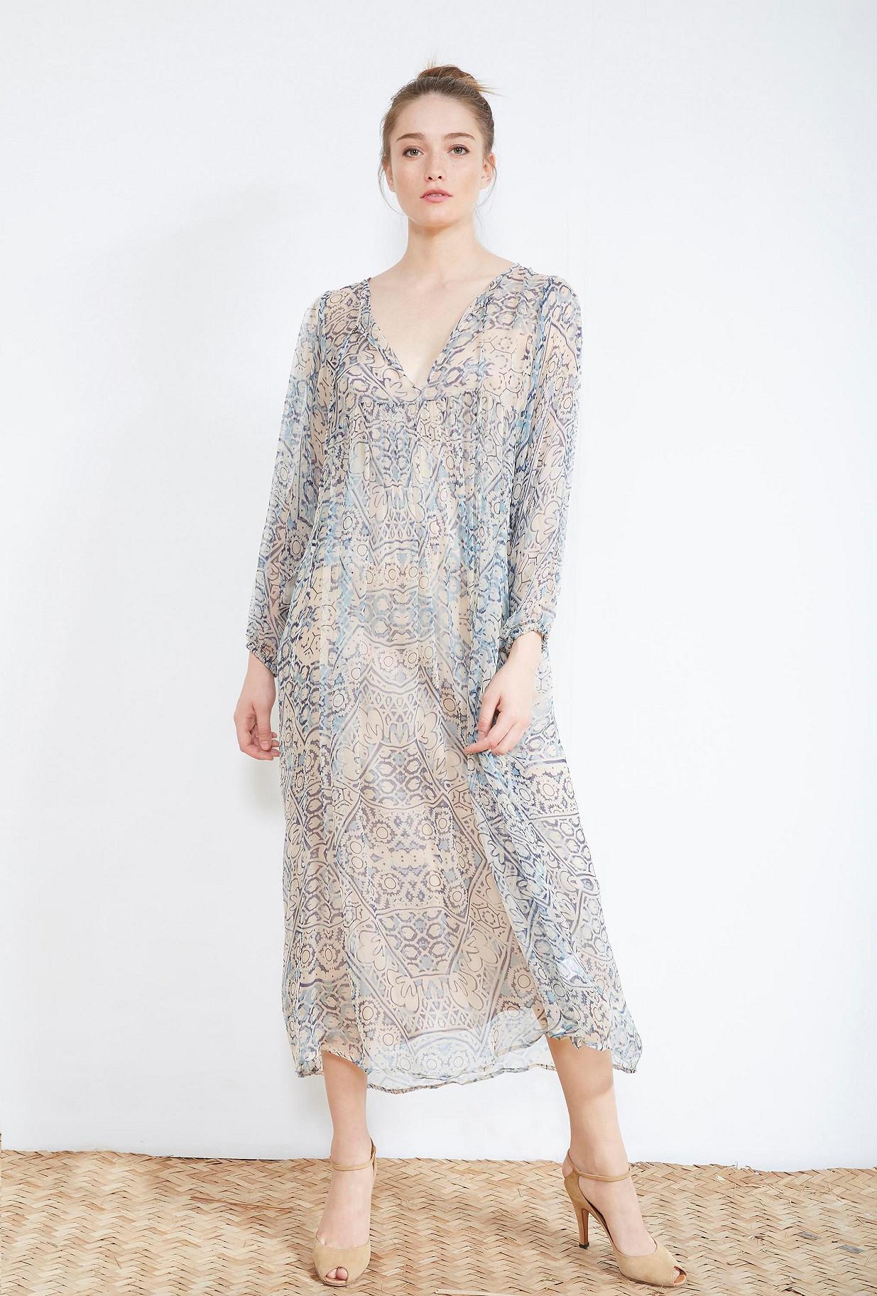 Blue print DRESS Feydeau Mes Demoiselles Paris