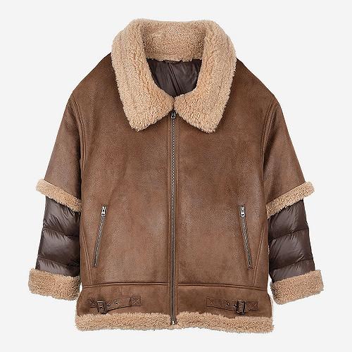 Coat Boombastic Mes Demoiselles color Brown