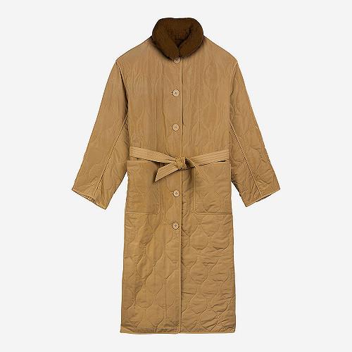 Coat Confucius Mes Demoiselles color Khaki