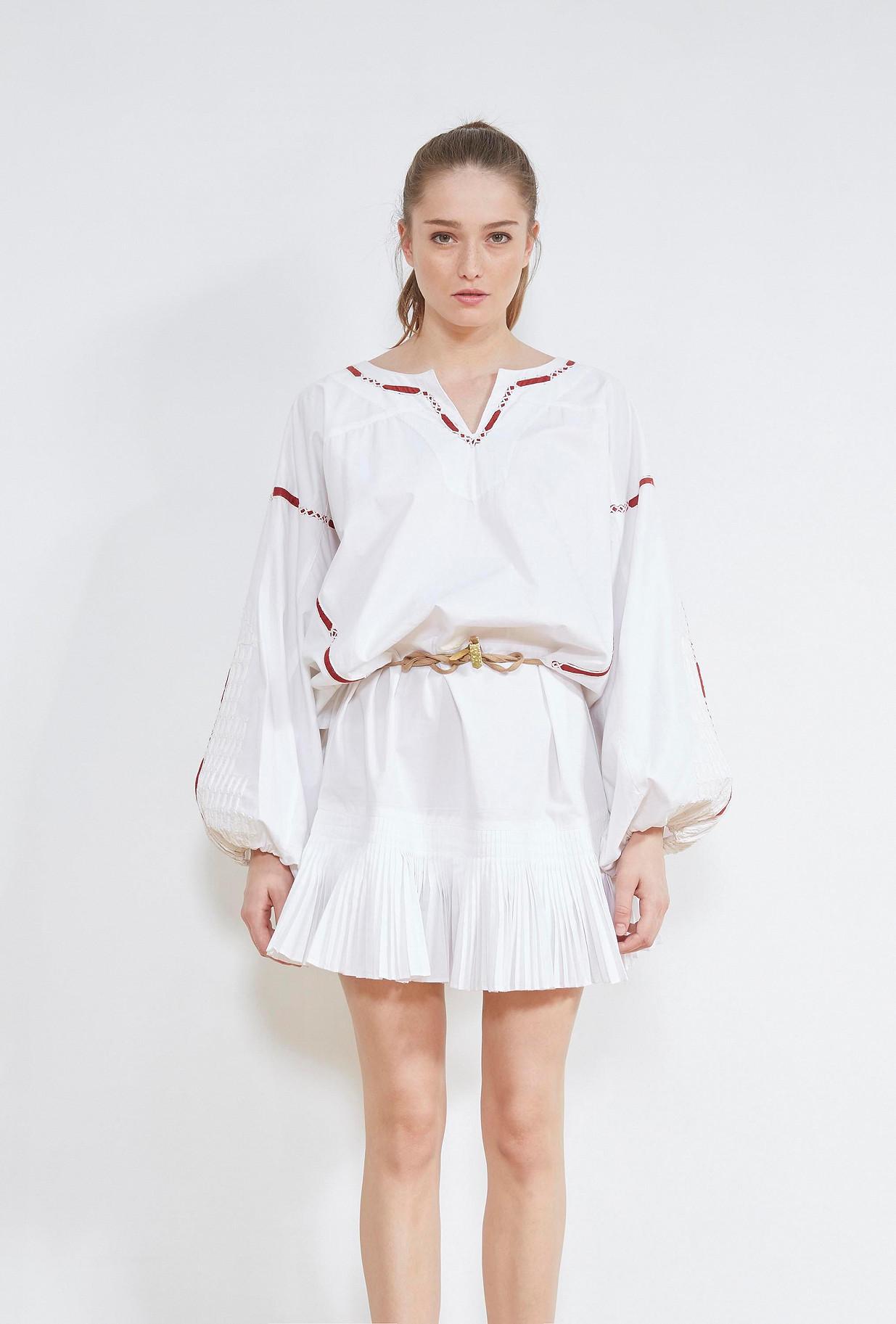ROBE Blanc Kahina Mes Demoiselles Paris
