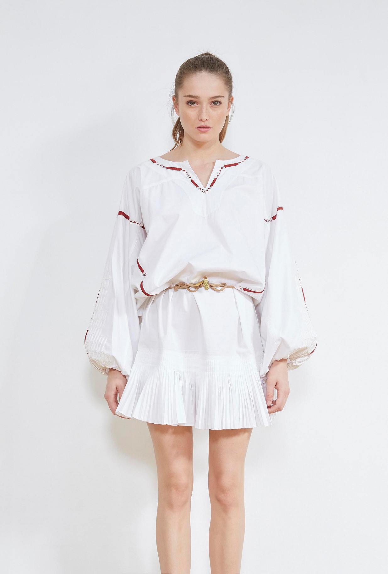White  DRESS  Kahina Mes demoiselles fashion clothes designer Paris