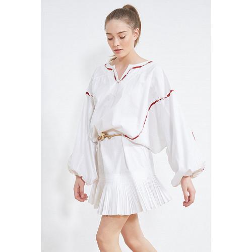 ROBE Kahina Mes Demoiselles coloris Blanc