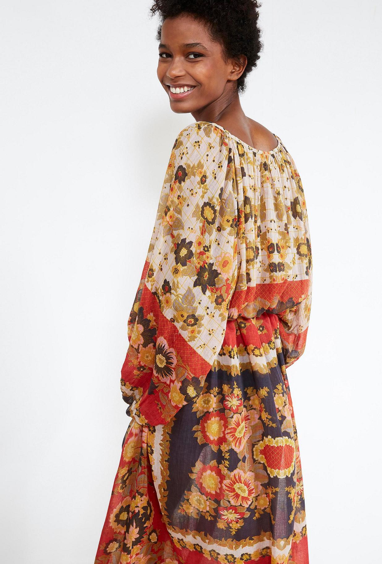Floral print DRESS Matrioshka Mes Demoiselles Paris