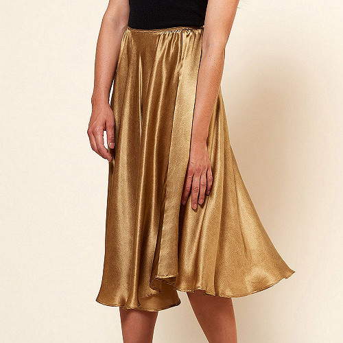 Skirt Nafi Mes Demoiselles color Gold