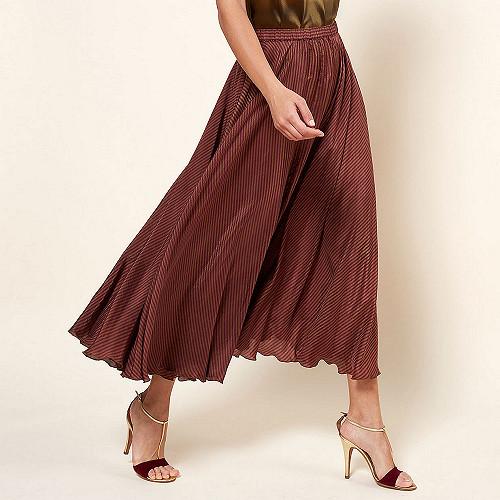 Skirt Penelope Mes Demoiselles color Red stripe