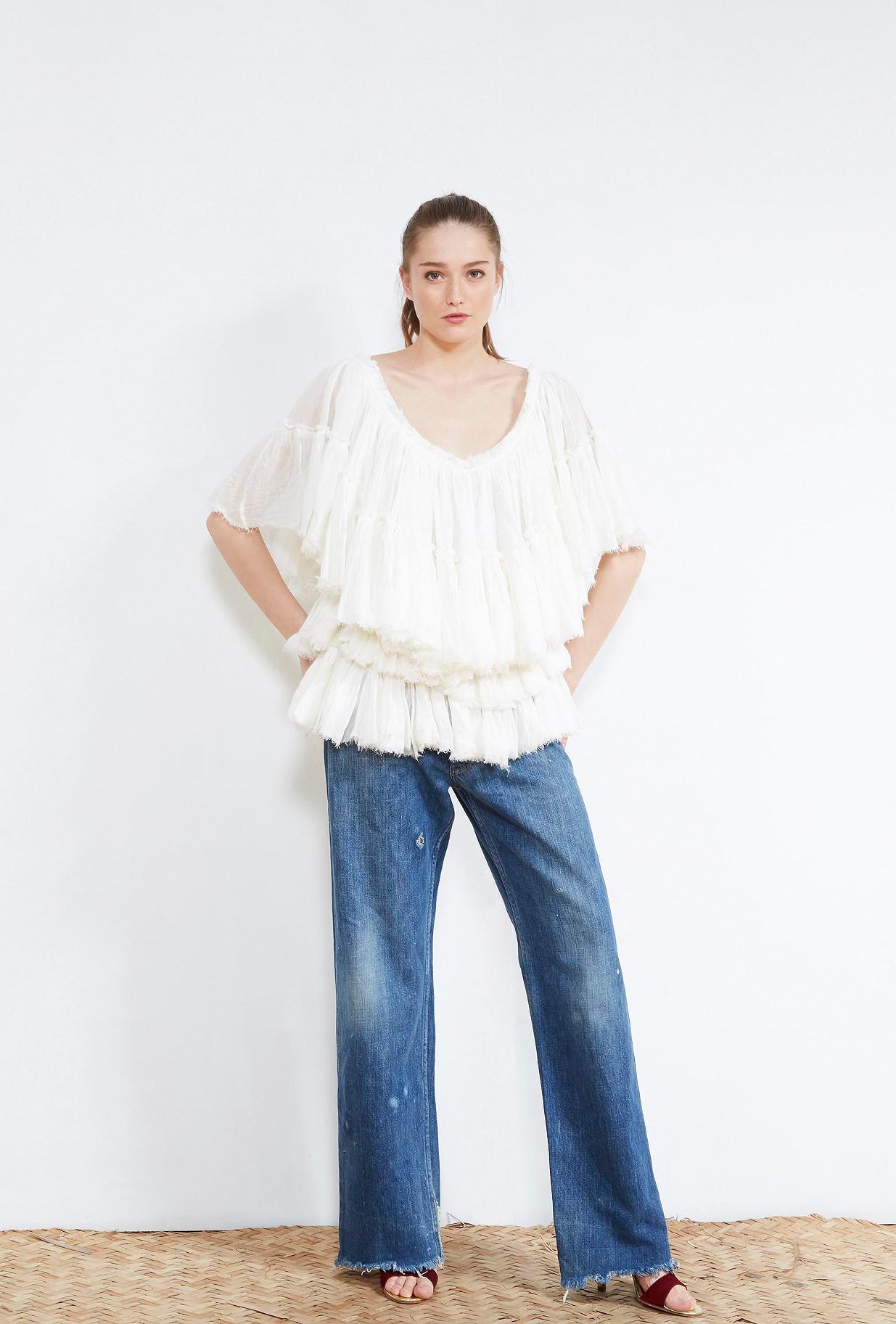 Khaki  TOP  Abril Mes demoiselles fashion clothes designer Paris