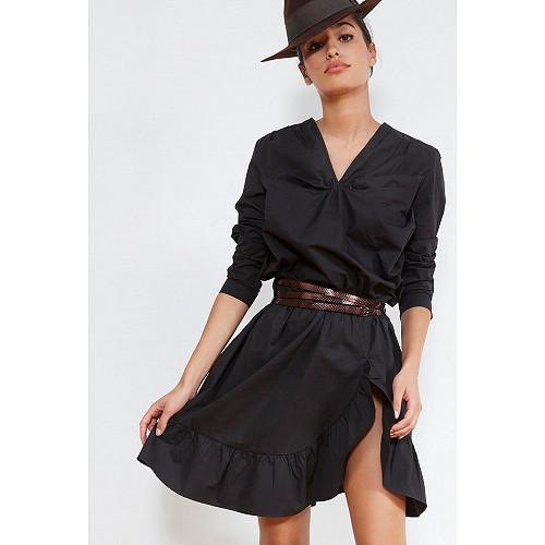 BLOUSE Noir  Amazone mes demoiselles paris vêtement femme paris