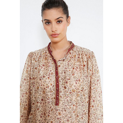 Floral print BLOUSE Crown Mes Demoiselles Paris